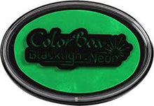 Load image into Gallery viewer, ColorBox Black Light Neon Oval ink pad - Choose Color