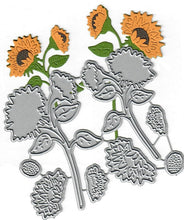 Load image into Gallery viewer, Dies ... to die for metal cutting die - Sunflower set