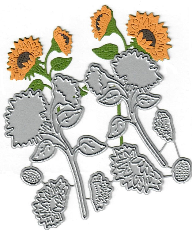 Dies ... to die for metal cutting die - Sunflower set