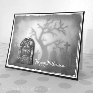 Gina Marie Clear stamp set - Tombstone