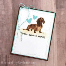 Load image into Gallery viewer, Gina Marie Clear stamp set - Dog - Weiner layered