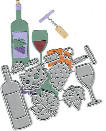 Dies ... to die for metal cutting die - Wine set