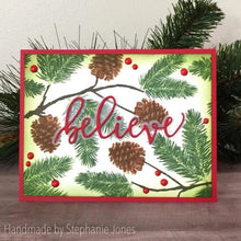 Load image into Gallery viewer, Gina Marie Clear stamp set - Winter Pine layered stamp