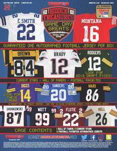 Tristar Mystery Football Jersey Autograph Boxes