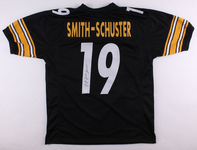 JUJU SMITH - SCHUSTER SIGNED STEELERS JERSEY