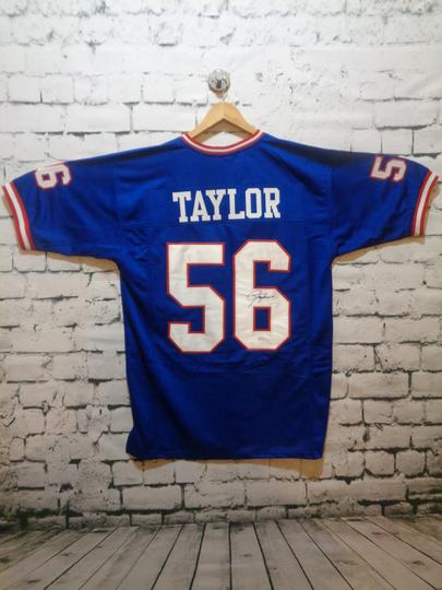 LAWRENCE TAYLOR SIGNED NY GIANTS JERSEY
