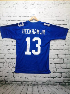 ODELL BECKHAM SIGNED NY GIANTS JERSEY