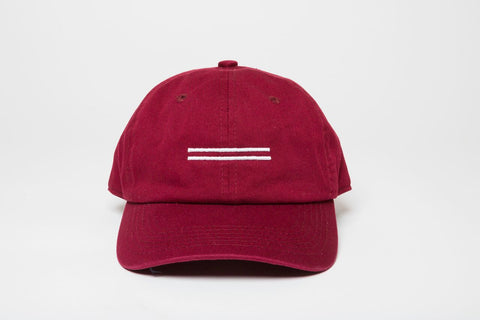 Equality Burgundy Dad Hat