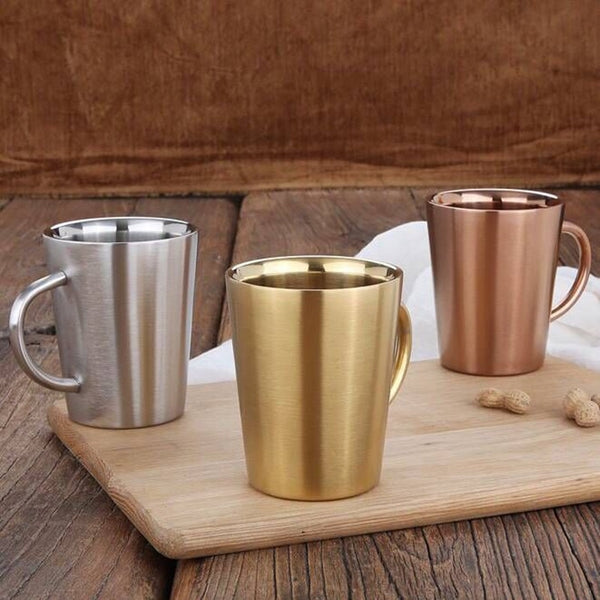 New Double Wall Stainless Steel Mug