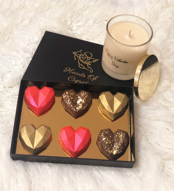 Hearts & Soy Candle