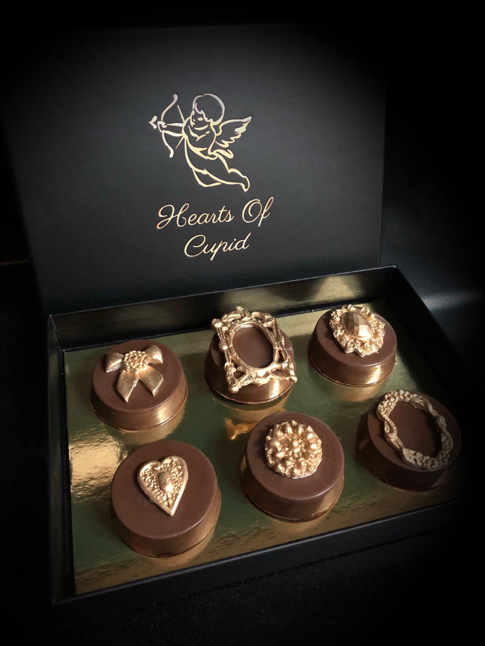 Luxury Chocolate Covered Oreos  Box of 6
