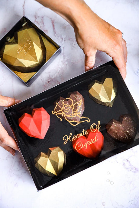 Mini Hearts (Box of 6 Assorted Flavours)