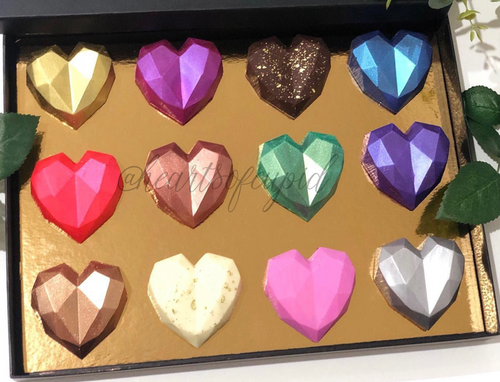Mini Hearts Box of 24