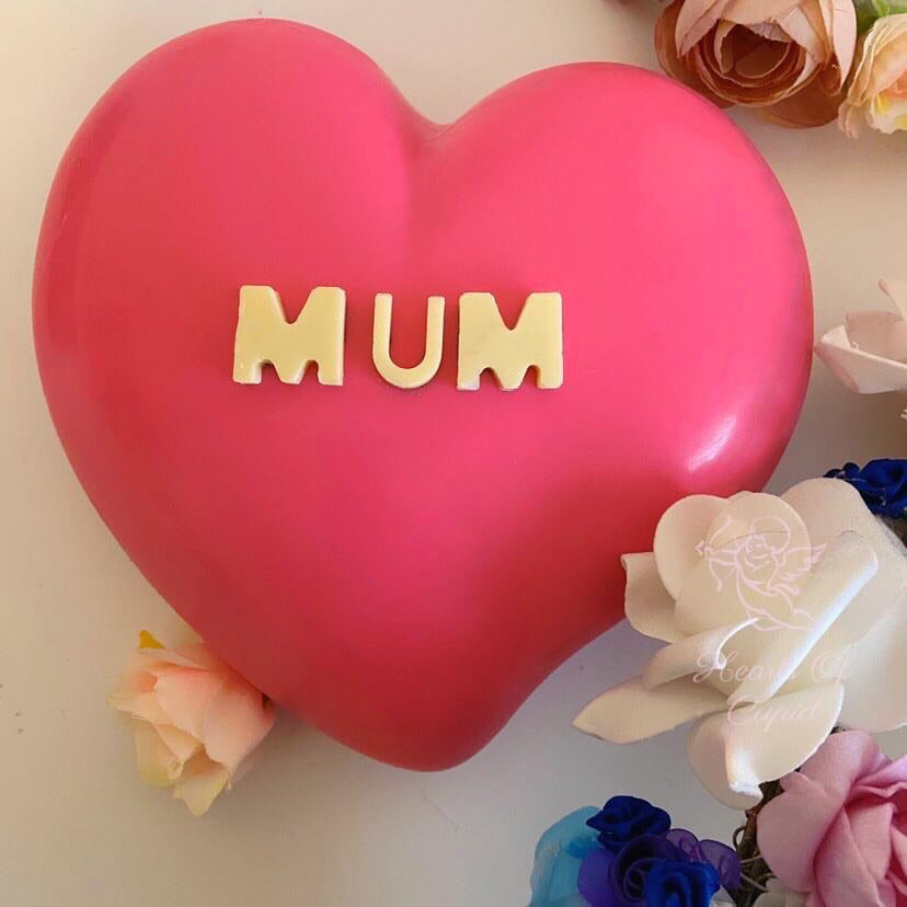 Pink Mother's Day heart