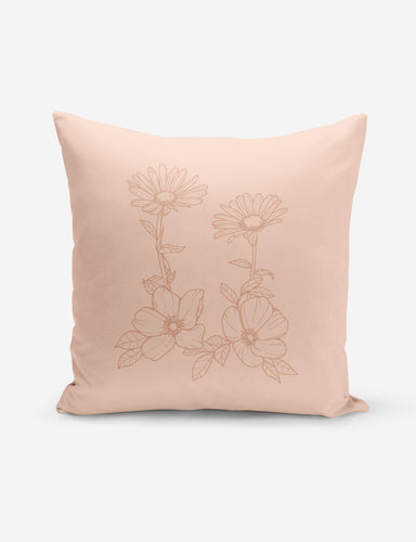 Blush Wild Rose Pillow