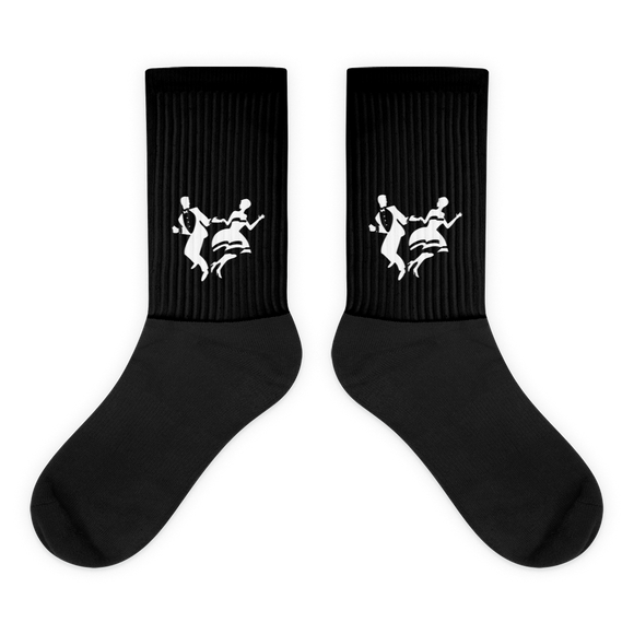 UofS BDC Logo Socks (Black and White)