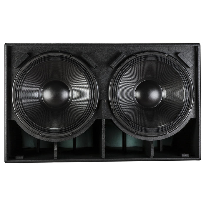 RCF S 8028 II Dual 18 Inch Installation Subwoofer (Acustica Series)