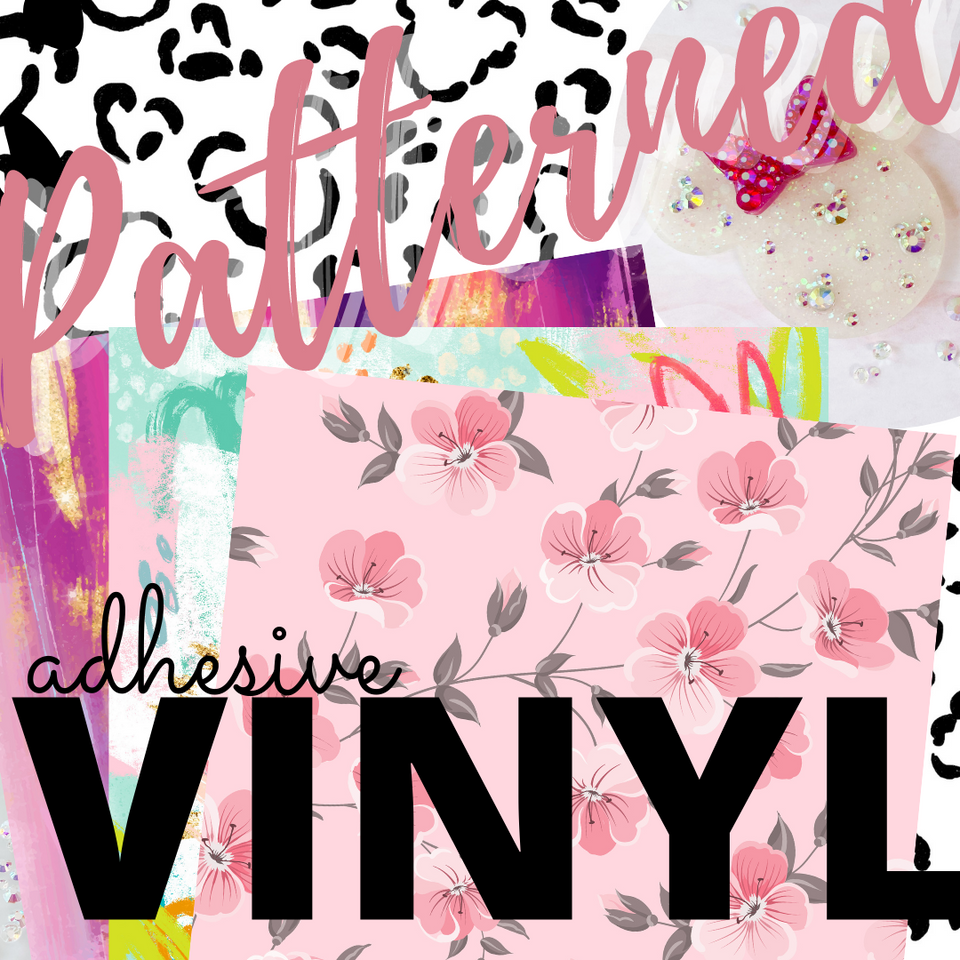 Patterned Adhesive Vinyl