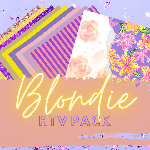 Blondie HTV Pack