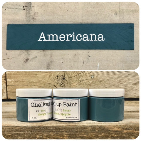 HOME LINE - Creative Sister Chalked Up Paint + Stain in One - Americana