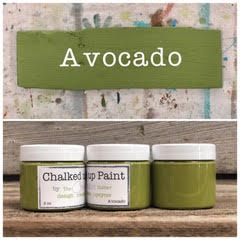Creative Sister Chalked Up Paint - Avocado - 2 oz.