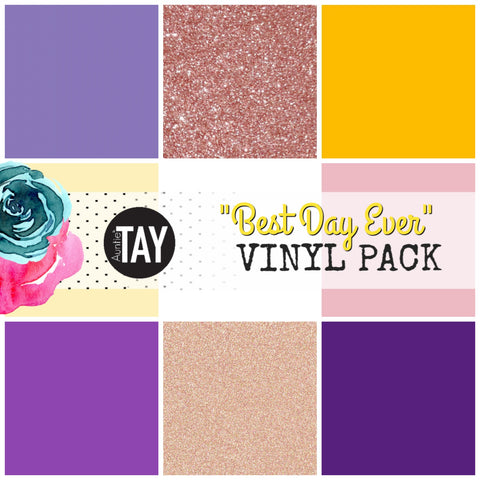 Best Day Ever Adhesive Vinyl Pack Disney Inspired