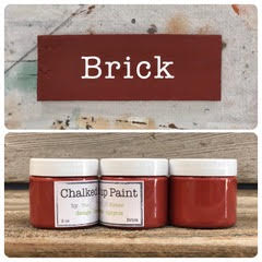 Creative Sister Chalked Up Paint - Brick - 2 oz.