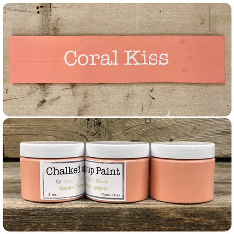 HOME LINE - Creative Sister Chalked Up Paint + Stain in One - Coral Kiss