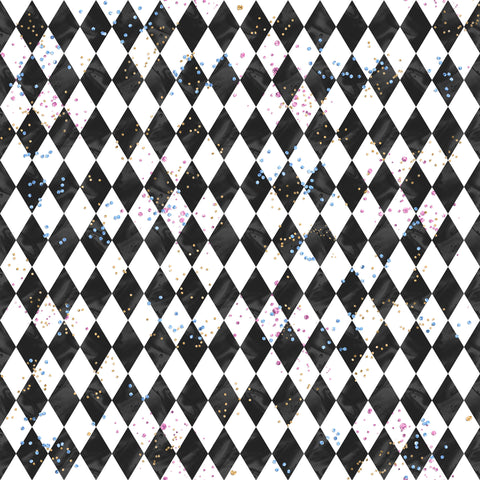 Checkers Patterned HTV 12x12