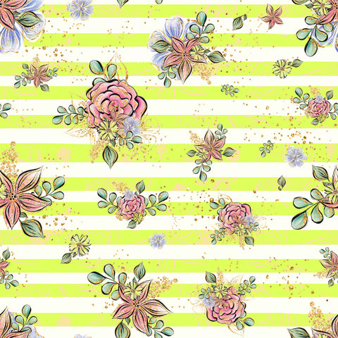 Succulant Patterned Adhesive Vinyl 12x12