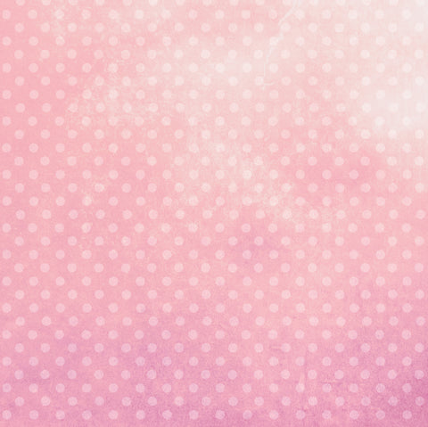 Pretty in Pink Polka Dots Patterned HTV 12x12