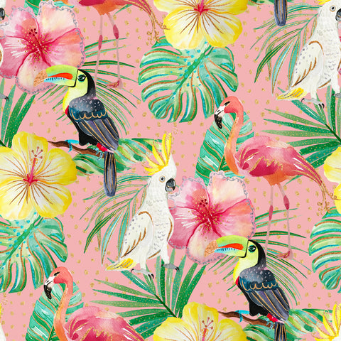 Tiki Room Patterned Adhesive Vinyl 12x12