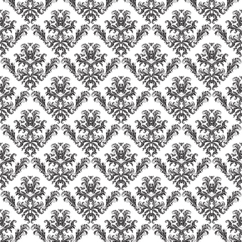 Queen Mary's Palace Patterned Adhesive Vinyl 12x12