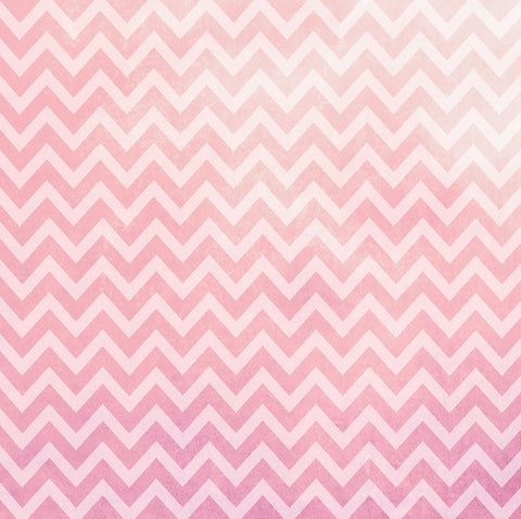 Pretty in Pink Chevron Patterned HTV 12x12