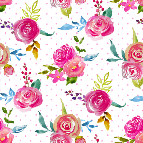 Spring Has Sprung Patterned Adhesive Vinyl 12x12