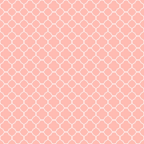 Pretty in Pink Stencil Patterned Adhesive Vinyl 12x12