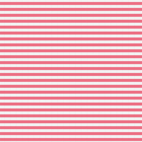 Pink Horizontal Stripes Patterned HTV 12x12