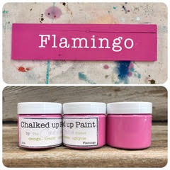 Creative Sister Chalked Up Paint - Flamingo