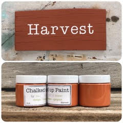Creative Sister Chalked Up Paint - Harvest - 2 oz.