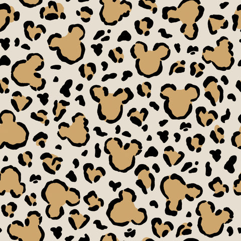 Leopard Mouse Light Brown 12x12 Patterned HTV