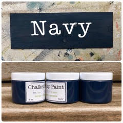 Creative Sister Chalked Up Paint - Navy