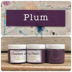 Creative Sister Chalked Up Paint - Plum - 2 oz.
