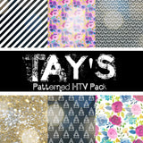 Tay's Patterned HTV Pack