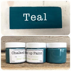 HOME LINE - Creative Sister Chalked Up Paint + Stain in One - TEAL