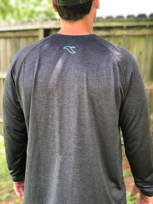 Charcoal grey with aqua Swamp Creek logo