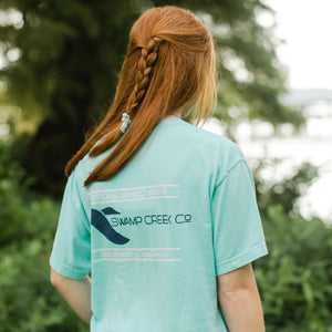 Chalky Mint Logo Shirt - Swamp Creek Co.