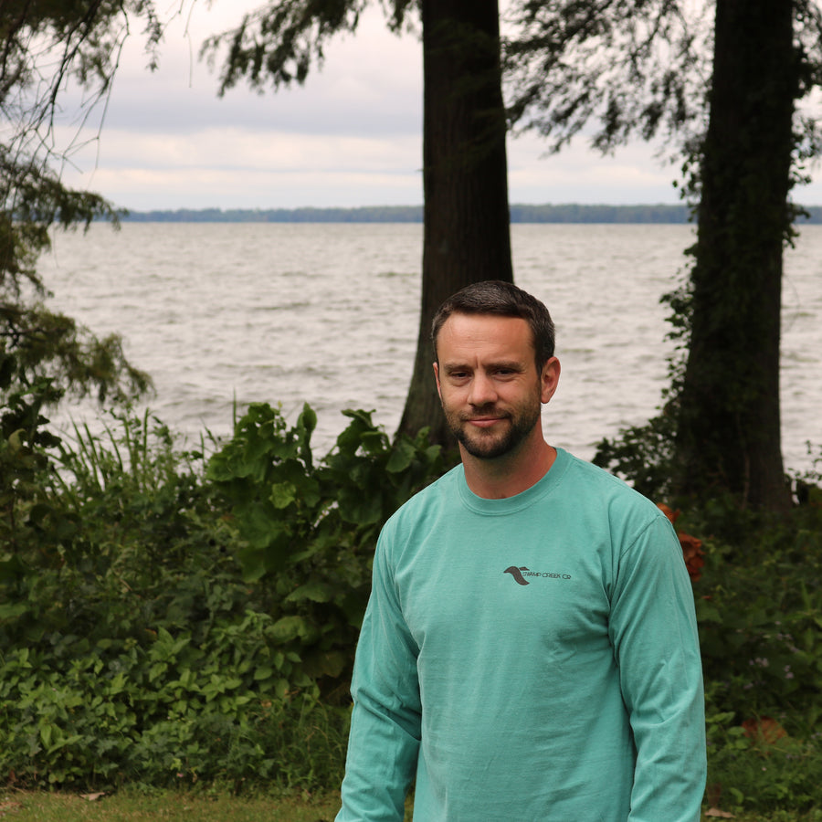 Seafoam Logo Shirt - Long Sleeve - Swamp Creek Co.