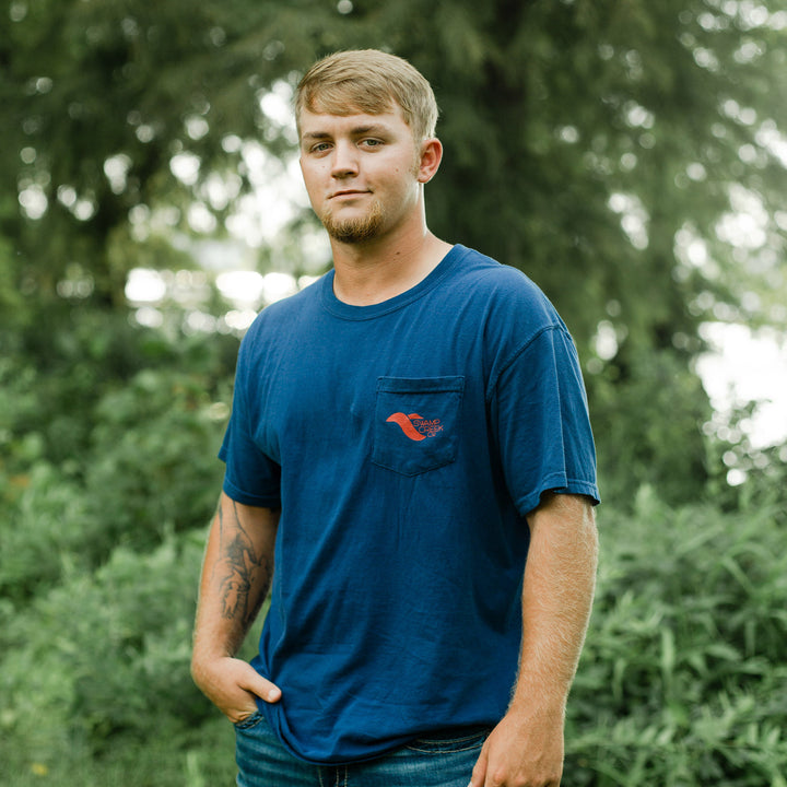 Navy USA Shirt - Swamp Creek Co.