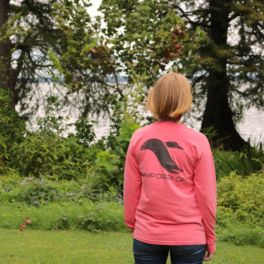 Watermelon Logo Shirt - Long Sleeve - Swamp Creek Co.