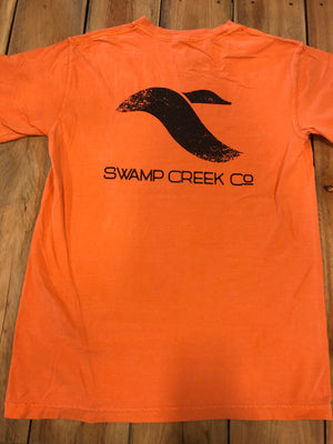 Burnt orange logo short sleeve